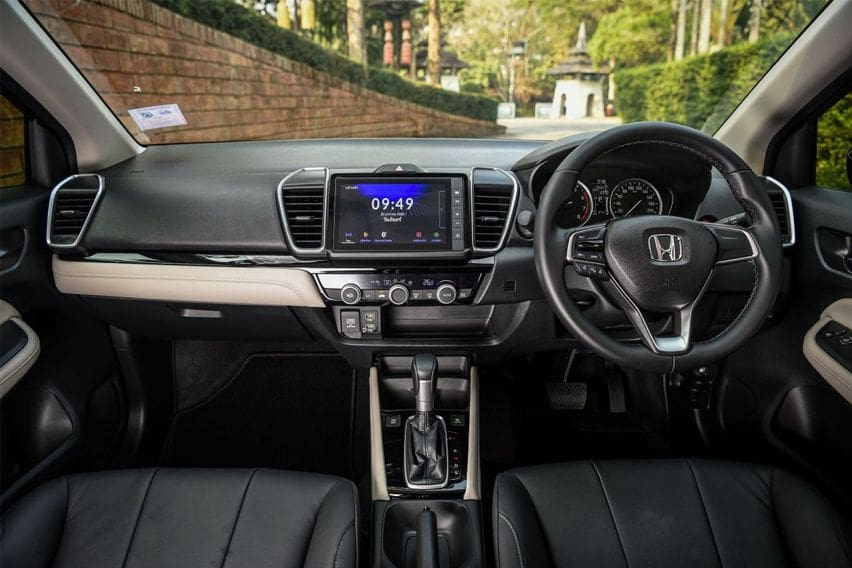 Honda City  cabin