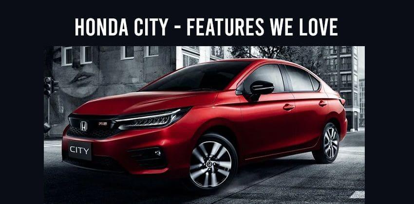 Honda City - Features we love