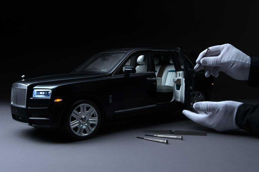Rolls-Royce Ciptakan Miniatur Cullinan Berskala 1:8, Dibuat Sesuai Keinginan Klien