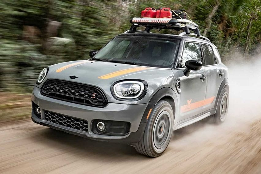 X-Raid Ubah Tampilan MINI Countryman Bergaya Cross-Country