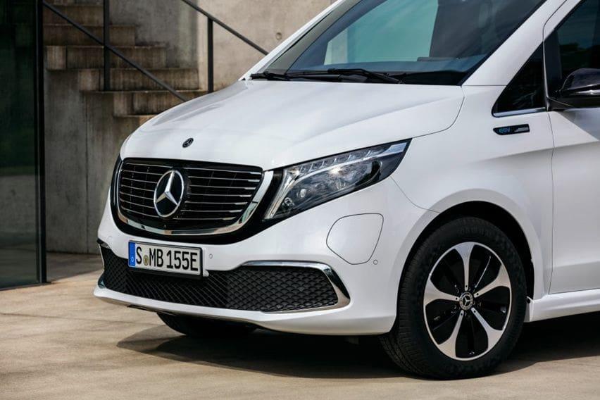 Van Listrik Mercedes-Benz EQV 300 Berbasis V-Class Resmi Dijual