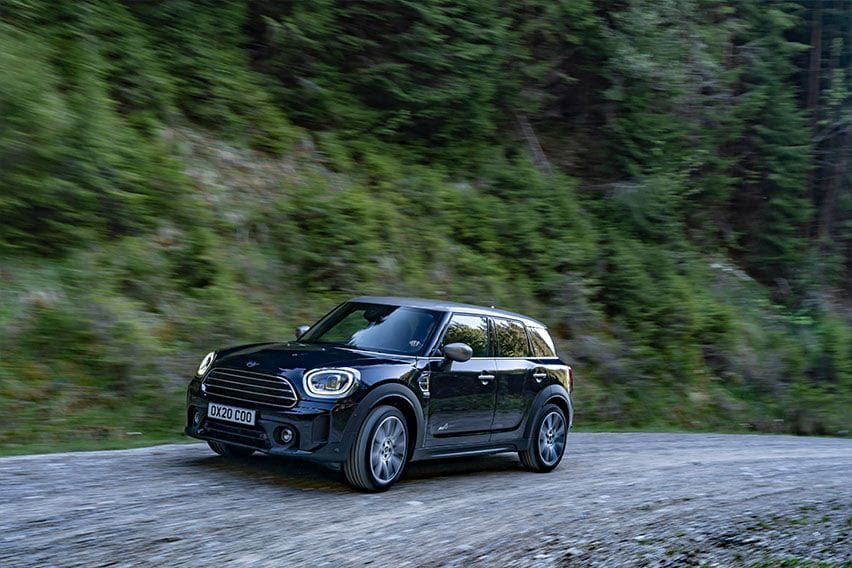 More tech and equipment for 2021 Mini Countryman
