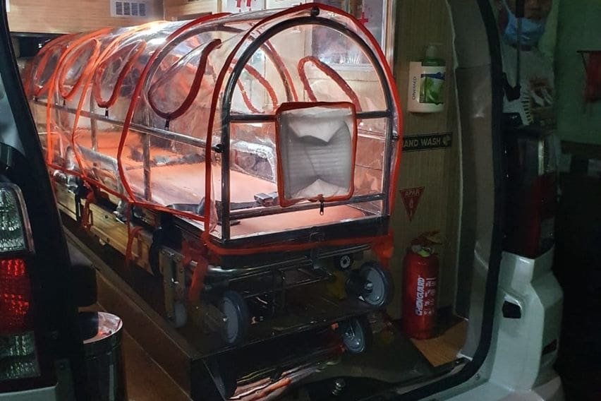 Suzuki APV ambulans covid-19
