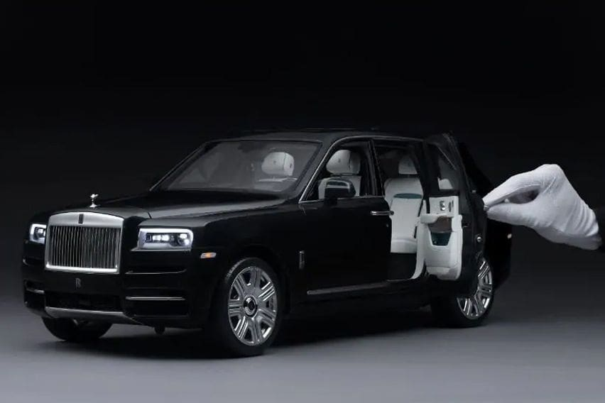 Rolls Royce Cullinan 1:8 scale replica model released, price starts at RM 73,791
