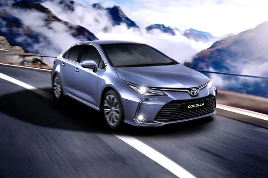 2020 Toyota Corolla front