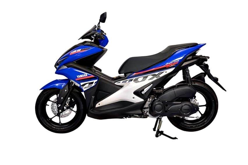 Yamaha Aerox warna baru Thailand