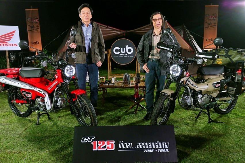 Launching Honda CT125 Hunter Cub di Thailand