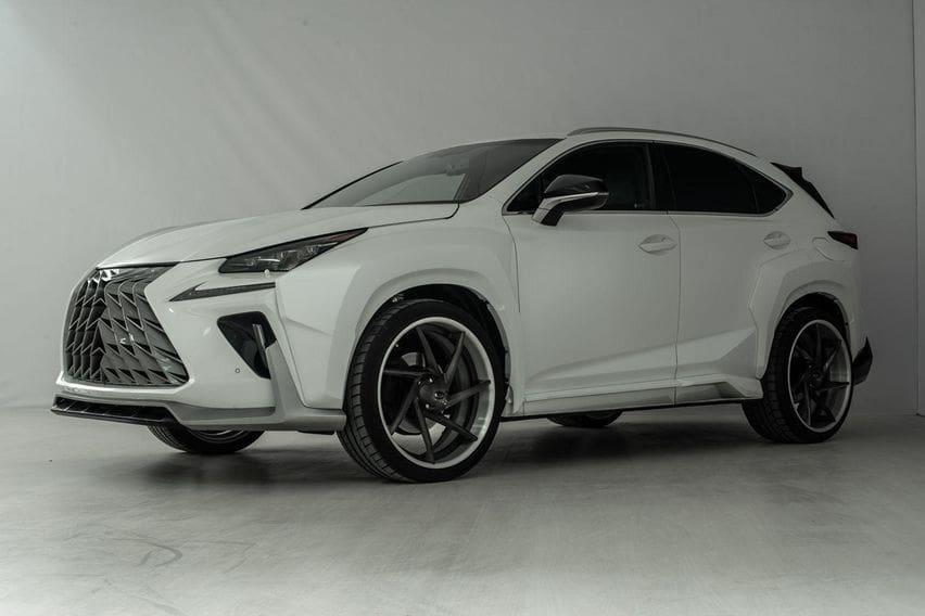 Modifikasi Lexus RX