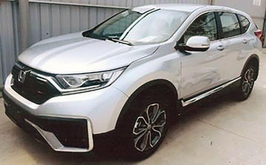 Honda CR-V turbo facelift