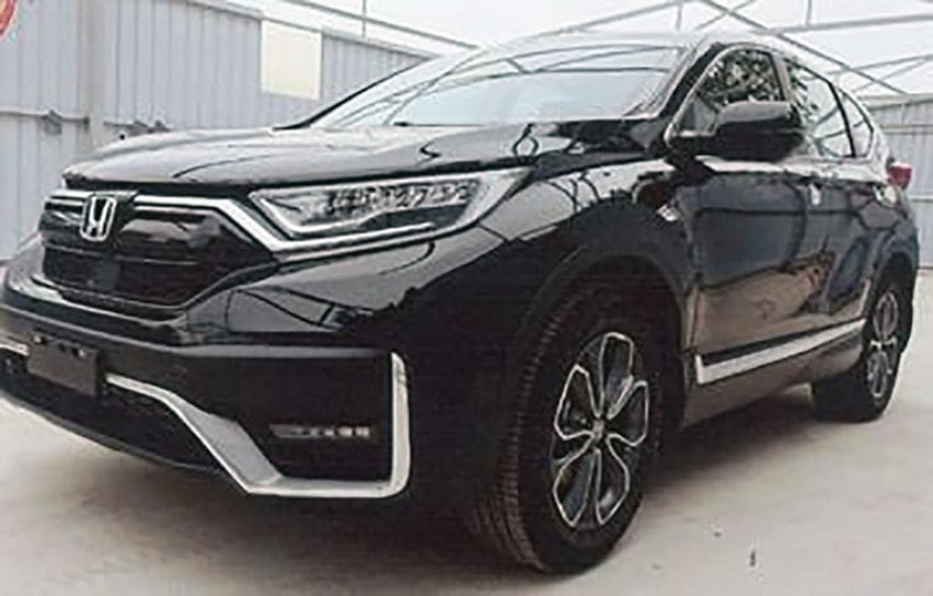 Honda CR-V MY 2020 design