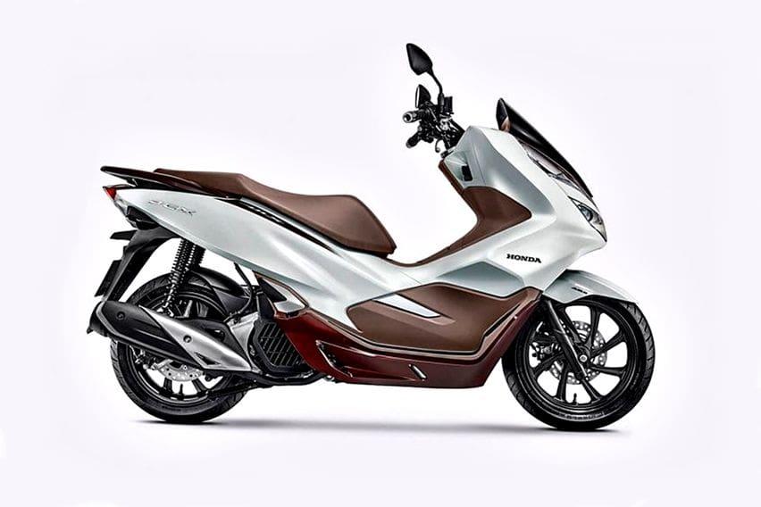Bikin Iri, Honda PCX di Brasil Punya Warna Keren dan Ban Pirelli