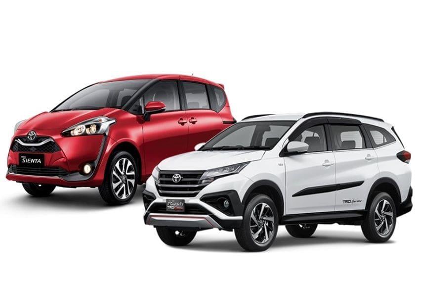 Mengukur Fungsionalitas Toyota Sienta V dan Rush TRD