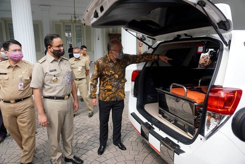TMMIN dan Gubernur DKI Jakarta