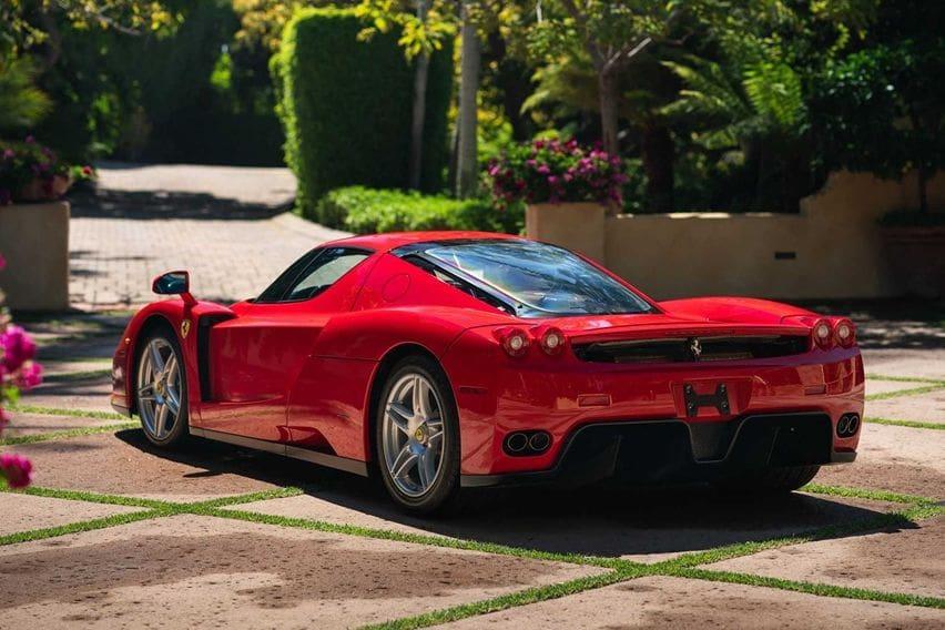 Ferrari Enzo rear