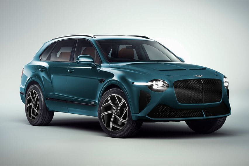 Check out the Bentley Bentayga Facelift rendered images