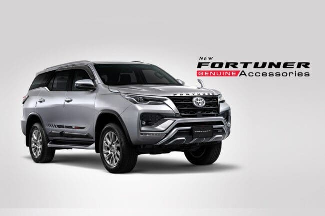 2021 toyota fortuner hilux new accessories released in