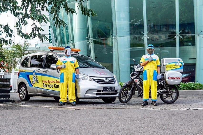 Honda Prospect Motor Berikan Servis Gratis pada 2.226 Mobil Dokter di Indonesia