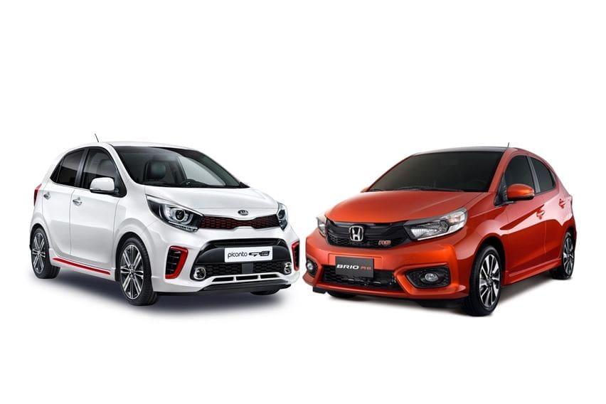 Dua Pilihan Hatchback Bernuansa Sporty, Pilih Kia Picanto GT Line atau Honda Brio RS?
