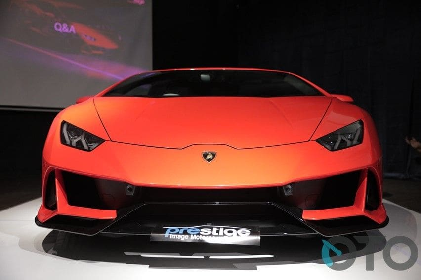 huracan evo front end
