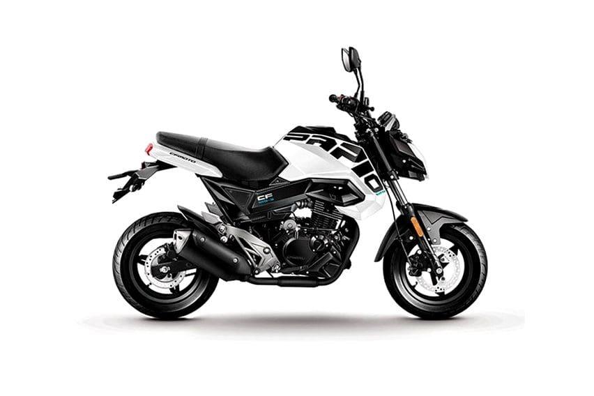 ST Papio: Supermoto Mini Pesaing Honda Grom dan Kawasaki Z125 Pro
