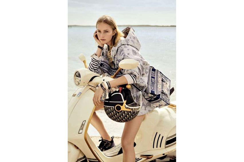 Vespa 946 Christian Dior kolaborasi