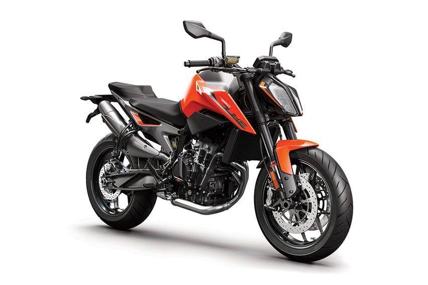KTM 790 motorcycle