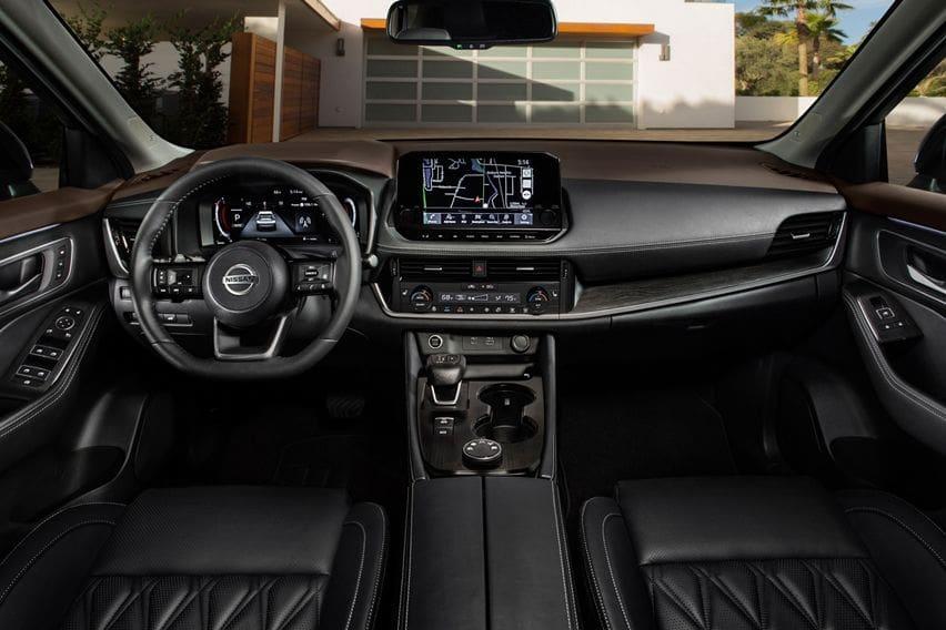 Nissan X-Trail 2021 interior