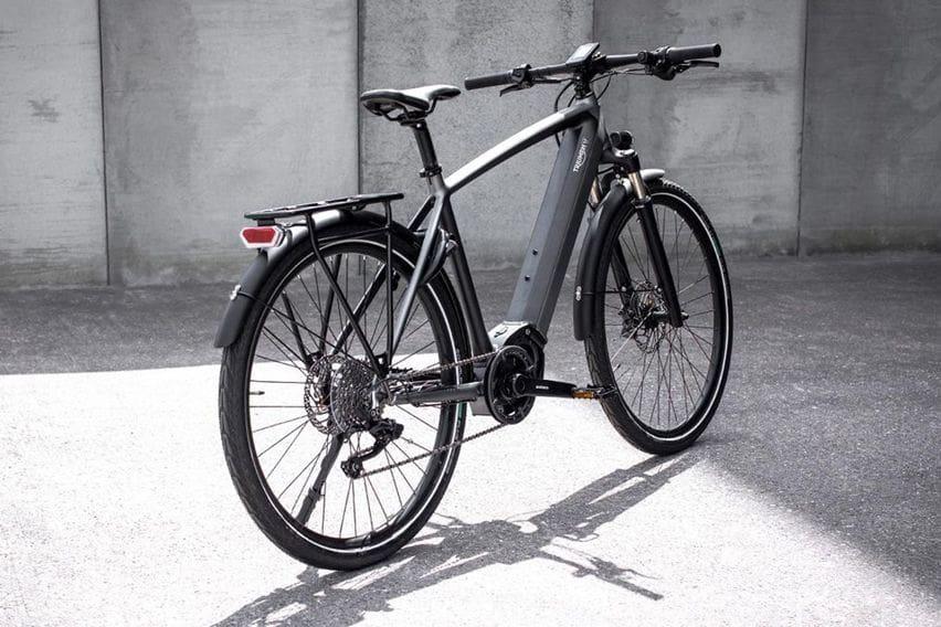 e-hybrid bike triumph