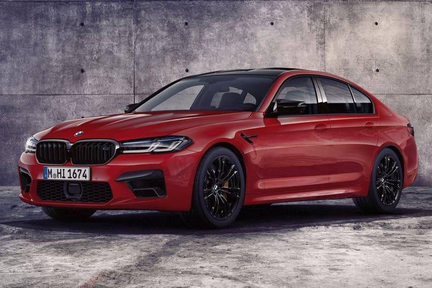 BMW M5 dan M5 Competition Disegarkan Mengadaptasi Arah Facelift 5er