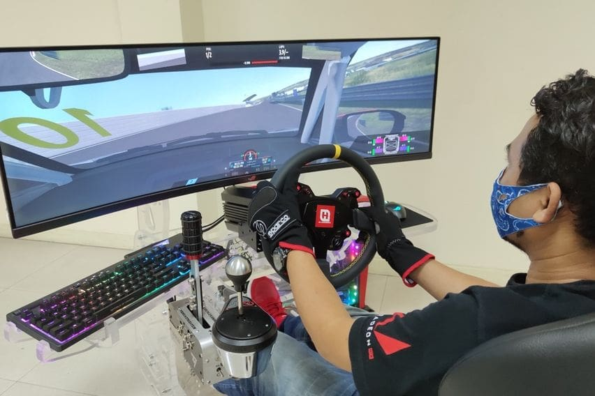 honda racing simulator