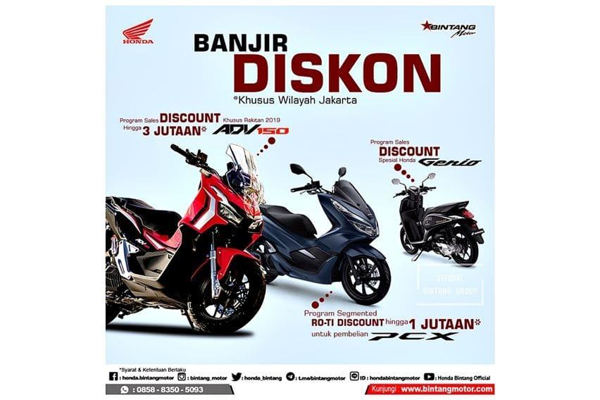 Promo motor Honda Bintang Motor