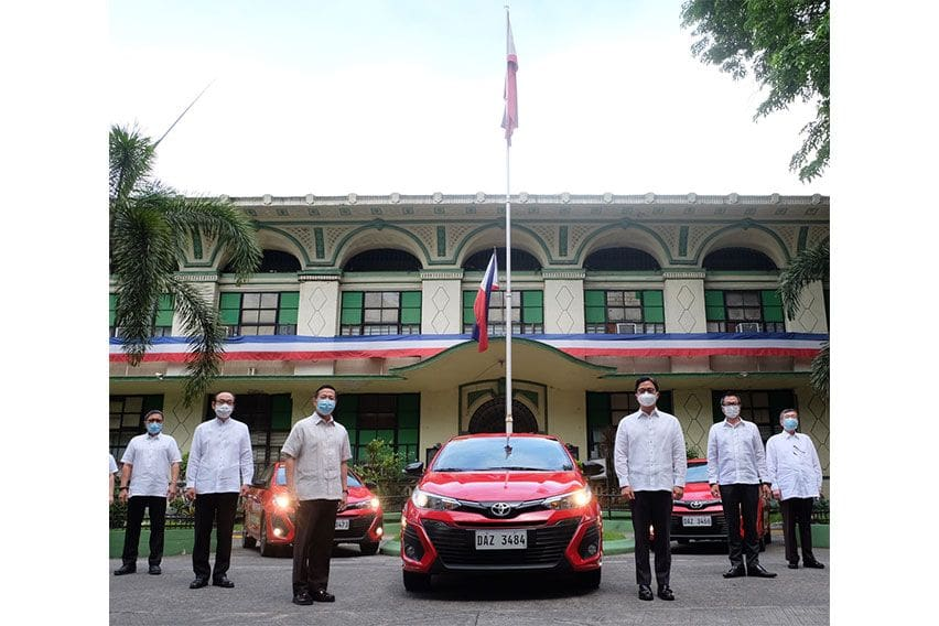 Toyota PH to donate 30 Vios units to Laguna, MM public hospitals