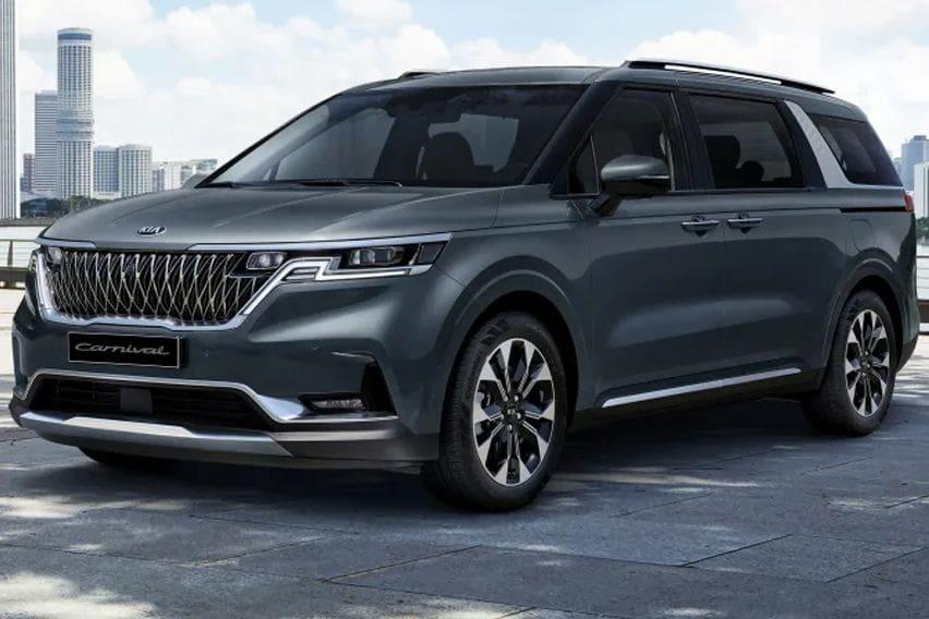 2021 Kia Carnival looks more like an SUV