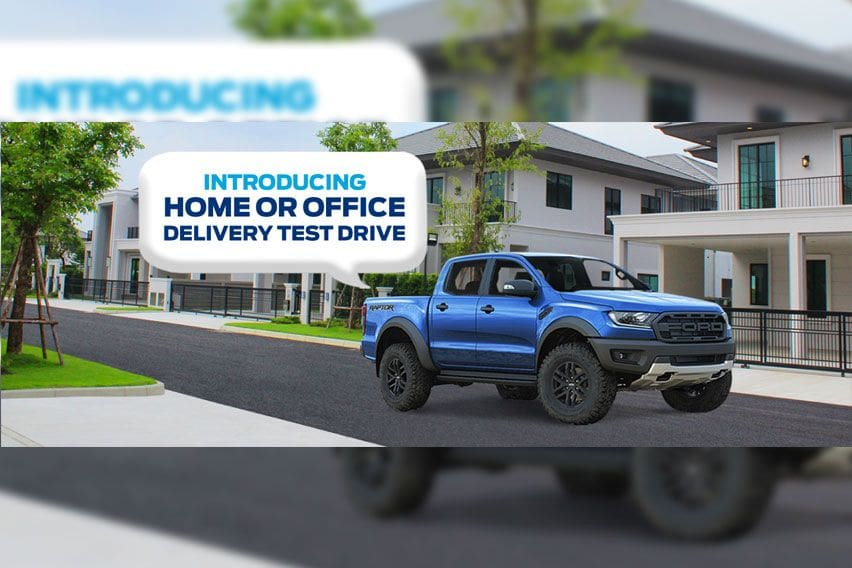 Ford introduces a home or office delivery test drive