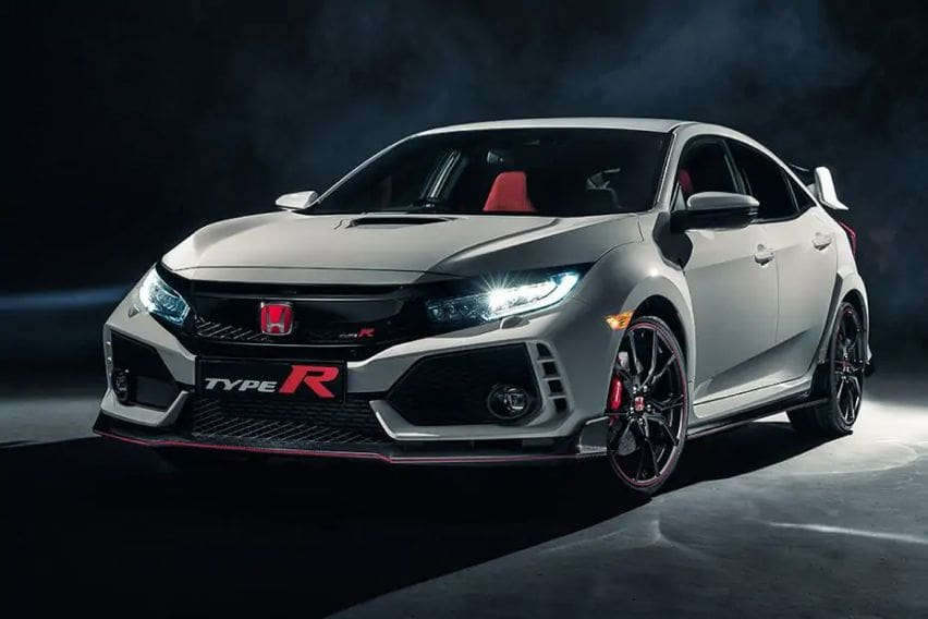 Honda Civic Type R front