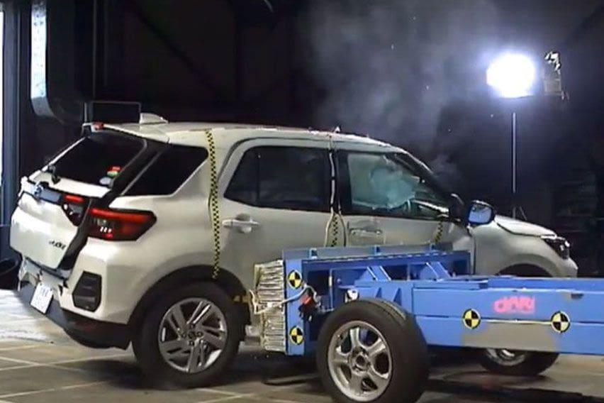 Daihatsu Rocky safety rating