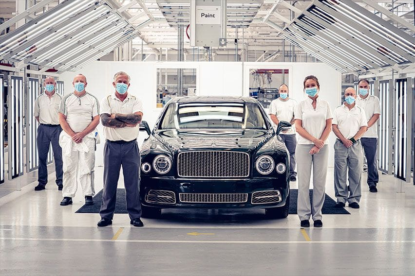 With a unique '6.75 Edition', Bentley Mulsanne era comes to an end