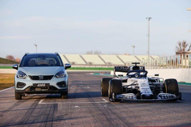 Honda Adaptasikan Teknologi F1 ke Jazz Terbaru