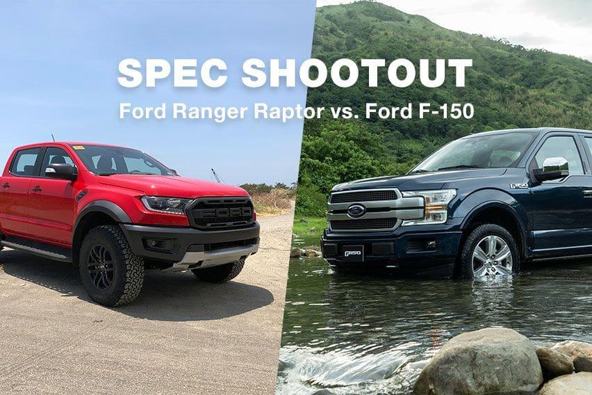 Ford Ranger Raptor vs. Ford F-150