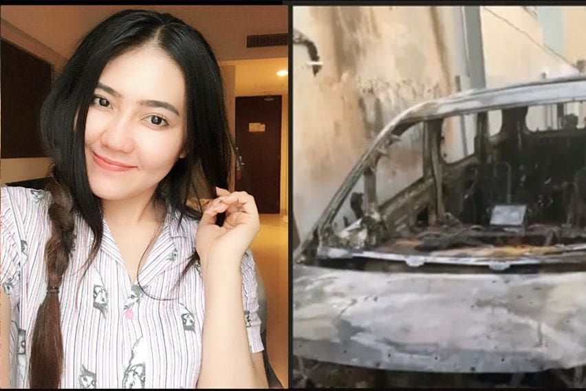 Toyota Alphard Via Vallen Dibakar, Dapat Ditanggung Asuransi?
