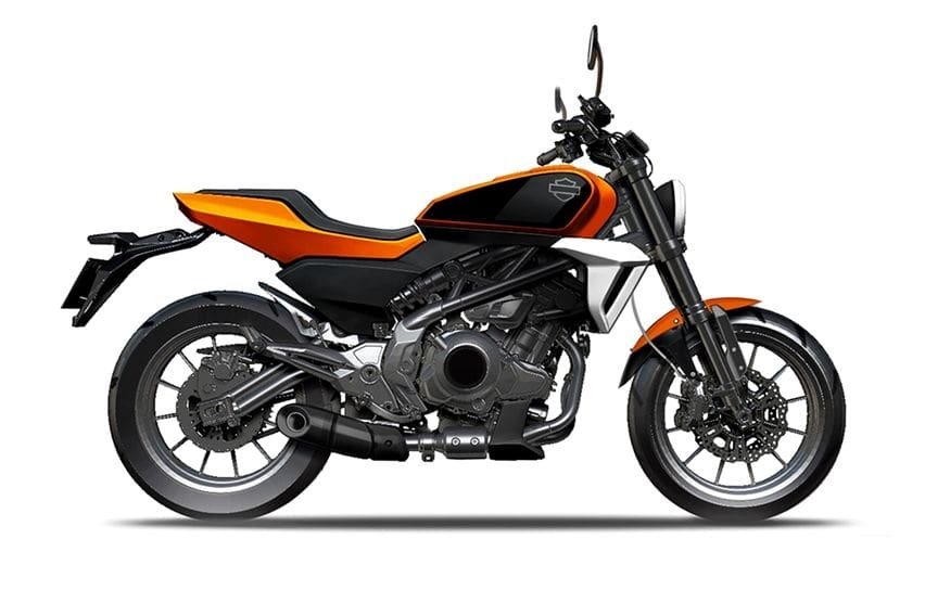 Harley-Davidson 350 cc Pakai Basis Motor Cina QJ350?