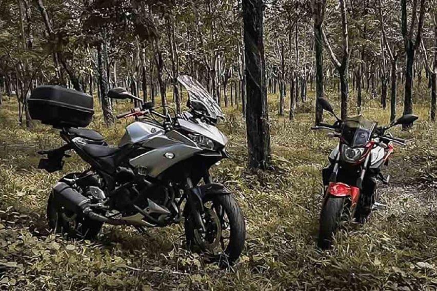 Yamaha R25 modified