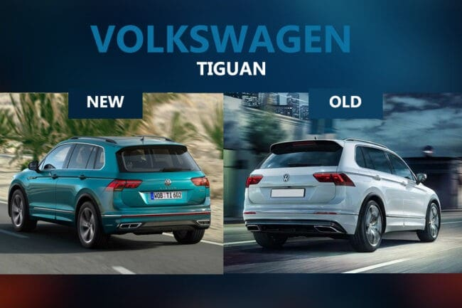 Volkswagen Tiguan – New vs old