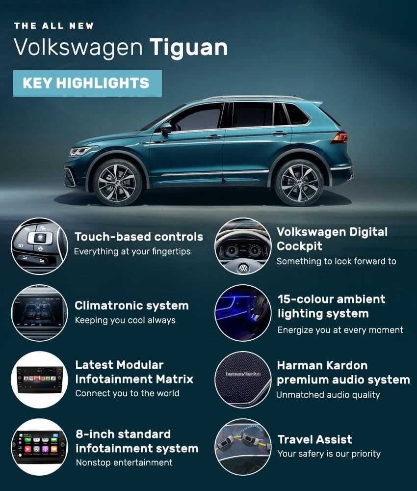 VW Tiguan features
