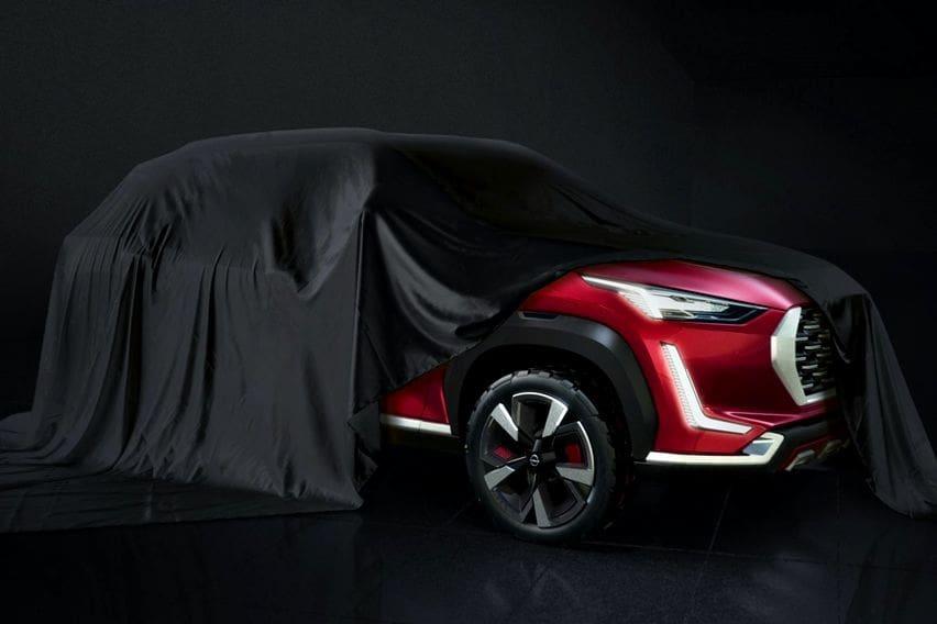 Nissan Rilis Teaser Crossover Mungil Anyar Berparas Datsun