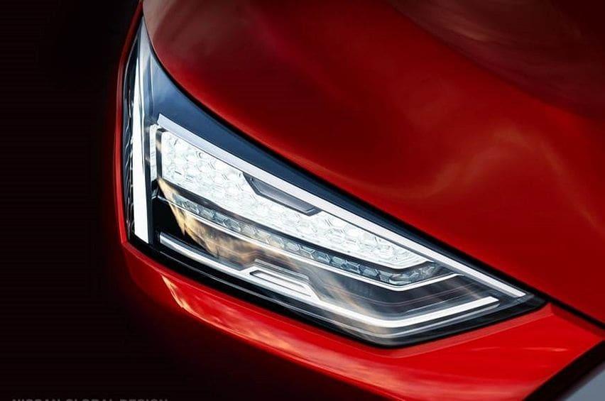Teaser lampu depan Nissan Magnite