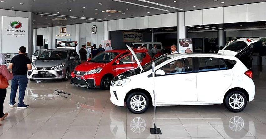 Perodua Myvi di Brunei Darussalam