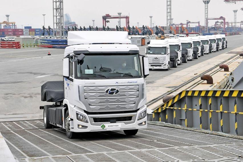 Hyundai Mulai Pengiriman Truk Hidrogen Pertama di Dunia