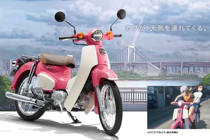 """Honda Super Cub Bersolek ala Kartun, Wujudkan Fantasi Para Pecinta """"Weather Child"""""""