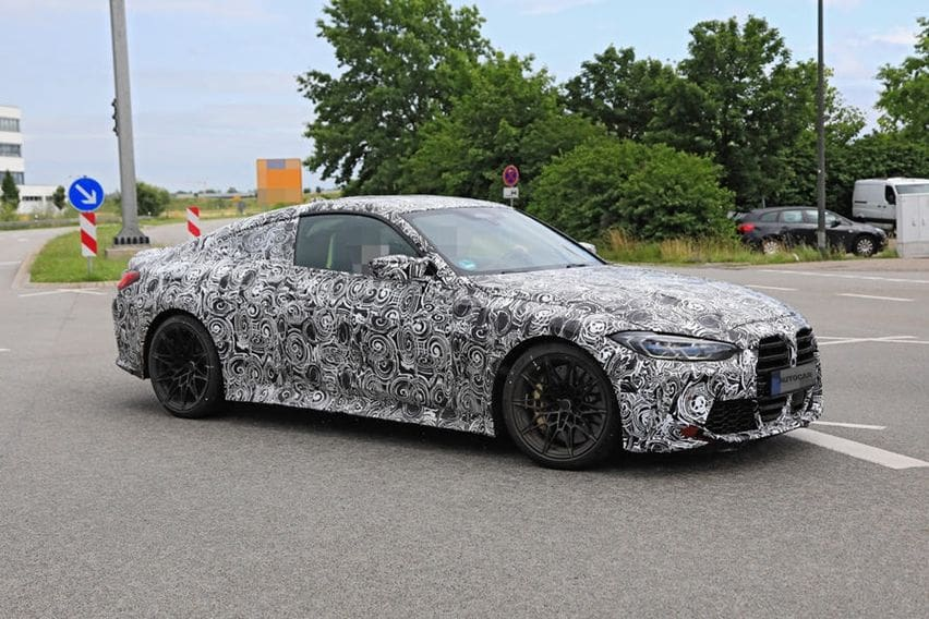 spy shot BMW M4